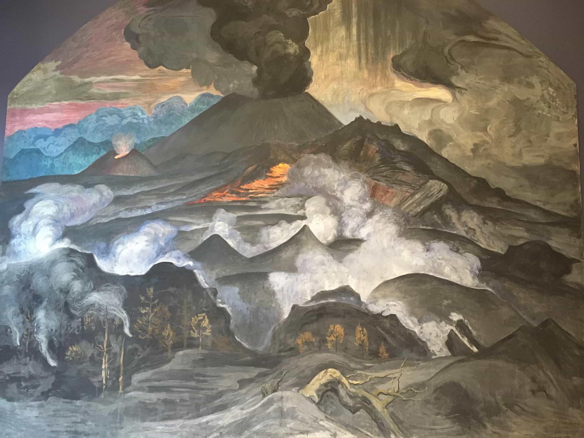 Dr. Atl: la bestialidad mexicana de los volcanes en el MUNAL | Retruécano